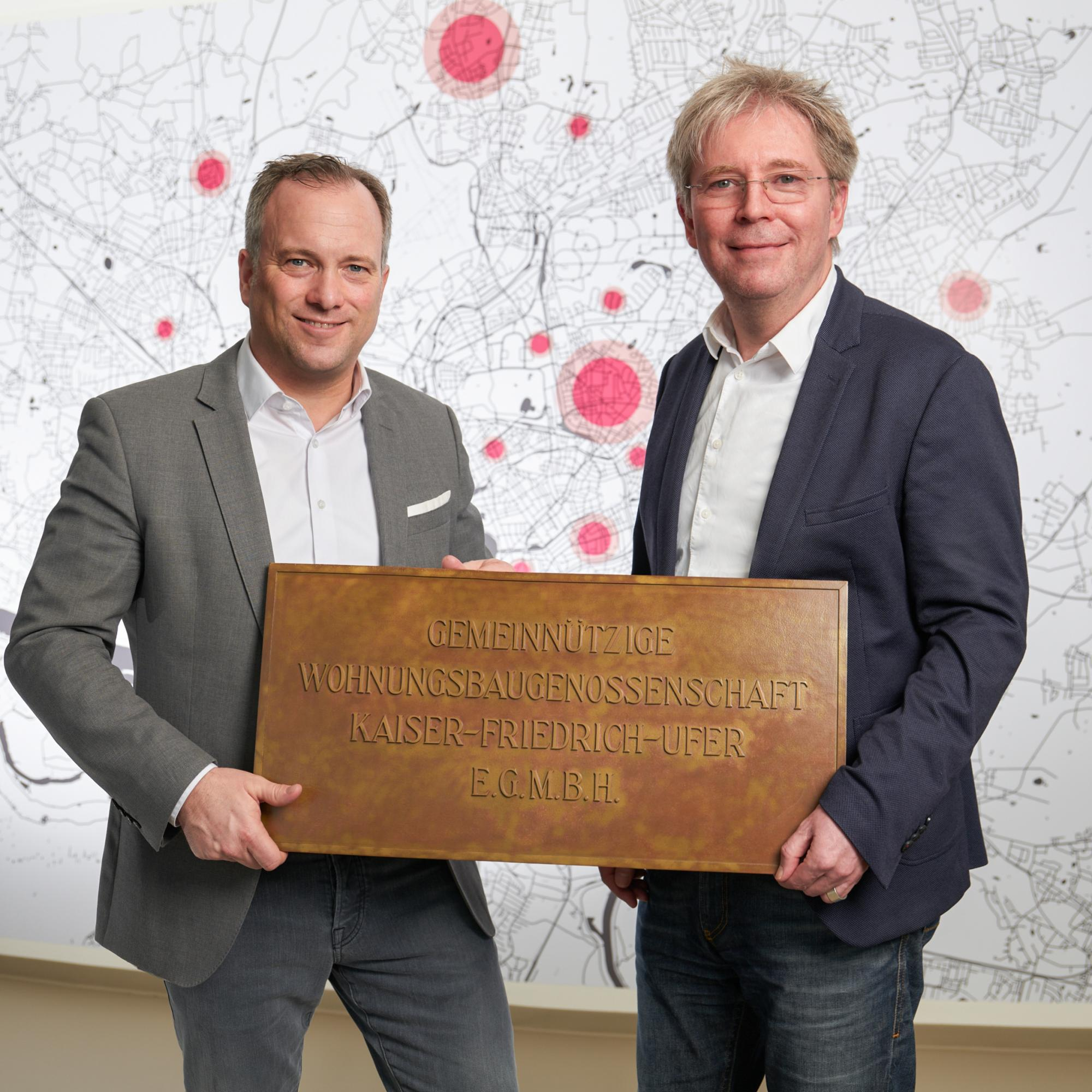 Dennis Voss und Ditmar Baaß