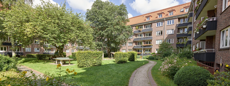 Genossenschaftswohnungen in Hamburg